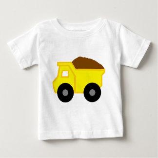 Yellow DumpTruck Baby T-Shirt