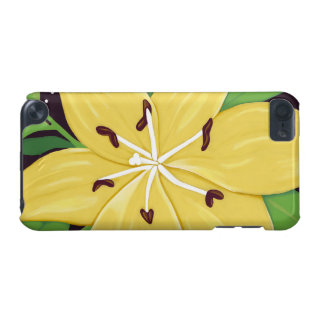 Yellow Easter Lily Digital Painting Case iPod Touch (5th Generation) Cases