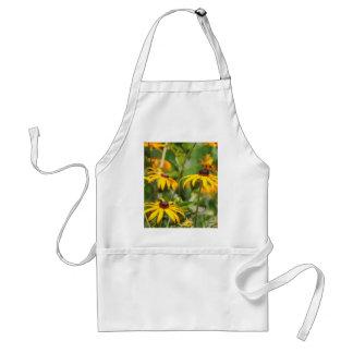 yellow echinacea standard apron