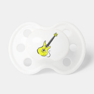 yellow electric guitar music graphic.png pacifier