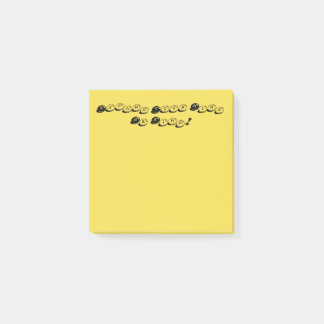 Yellow Expand Your Mind Be Kind Post it Notes