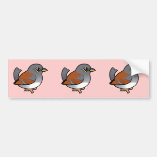 Yellow-eyed Junco Bumper Stickers