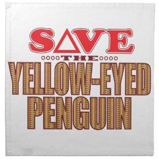 Yellow-Eyed Penguin Save Napkin