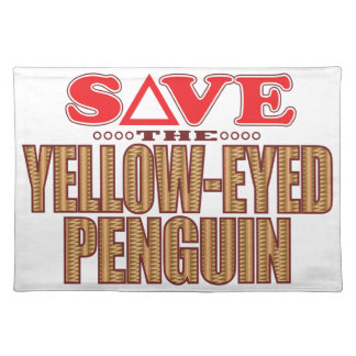 Yellow-Eyed Penguin Save Placemat