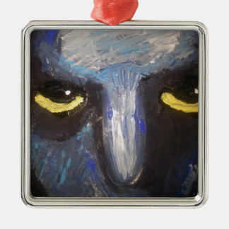 yellow eyes.jpg Silver-Colored square decoration