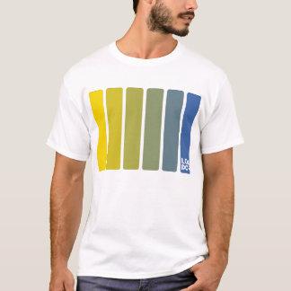 Yellow Fade to Blue T-Shirt