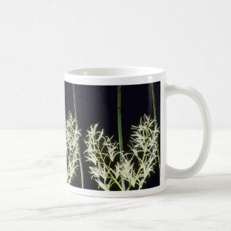 Yellow Falcatum (Dendrobium) flowers Mug