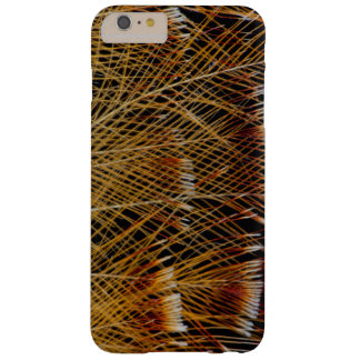 Yellow Feather Design Abstract Barely There iPhone 6 Plus Case