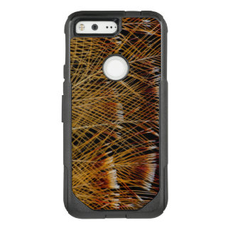 Yellow Feather Design Abstract OtterBox Commuter Google Pixel Case