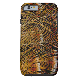 Yellow Feather Design Abstract Tough iPhone 6 Case