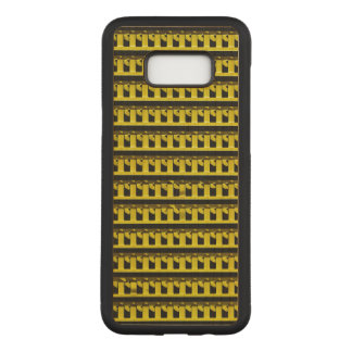 Yellow Fence Carved Samsung Galaxy S8+ Case