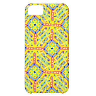 Yellow Festival Pattern iPhone 5C Case