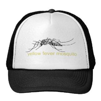 Yellow Fever Mosquito Mesh Hat