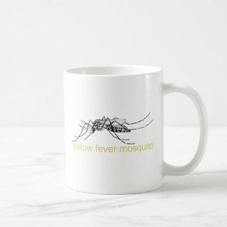 Yellow Fever Mosquito Coffee Mugs