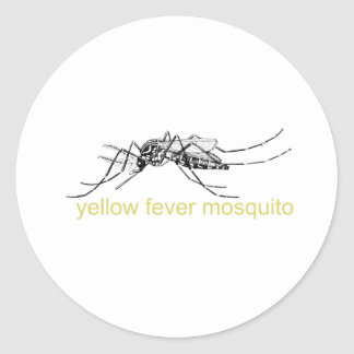 Yellow Fever Mosquito Stickers