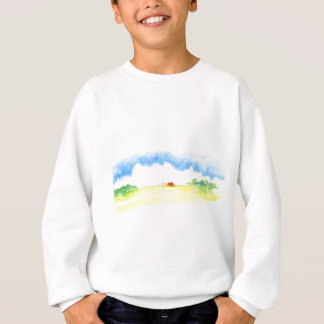Yellow field sweatshirt