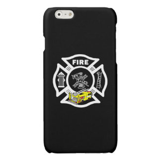 Yellow Fire Truck Rescue iPhone 6 Plus Case
