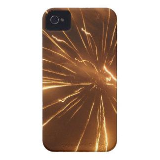 Yellow Firework Iphone Case