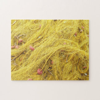 Yellow Fishing Nets (Greece) Puzzle
