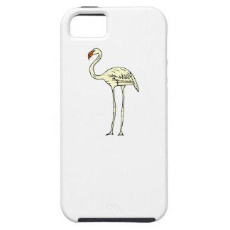 Yellow Flamingo iPhone 5/5S Case