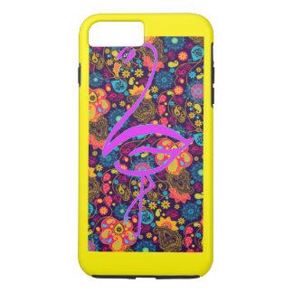 Yellow flamingo iPhone 7 plus case