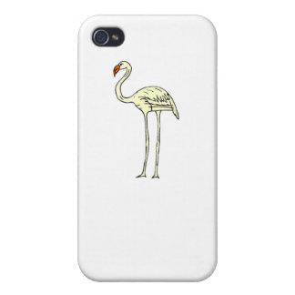 Yellow Flamingo iPhone 4 Cases