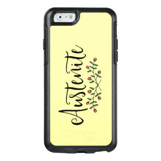Yellow Floral Austenite OtterBox iPhone 6/6s Case