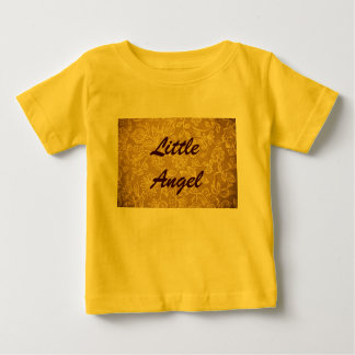 Yellow Floral Background Baby T-Shirt