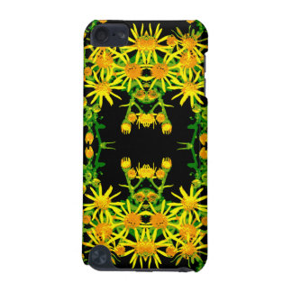 Yellow Floral Graphic. iPod Touch (5th Generation) Case