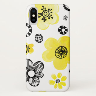 Yellow Floral iPhone 8/7 Case