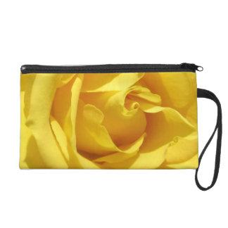 yellow flower 3 mf wristlet purses