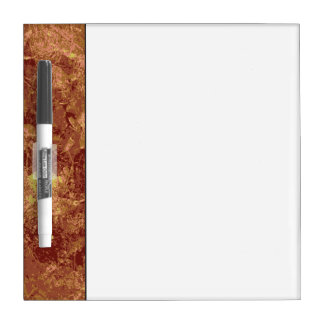 Yellow flower against leaf camouflage pattern dry erase board