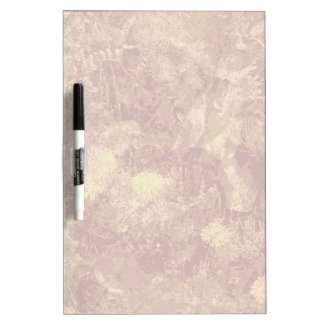 Yellow flower against leaf camouflage pattern dry erase whiteboards