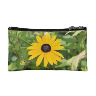 Yellow Flower Bag Cosmetics Bags