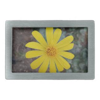 Yellow Flower Belt Buckle