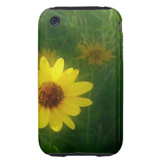 Yellow Flower iPhone 3 Tough Cover