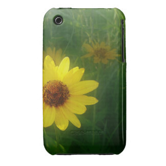 Yellow Flower iPhone 3 Covers