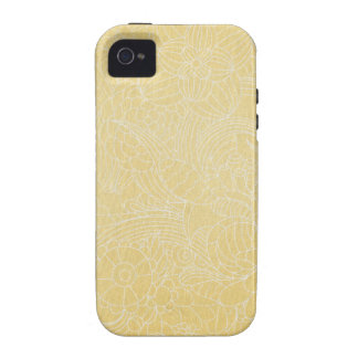 yellow flower Case-Mate iPhone 4 cases