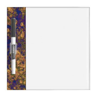 Yellow flower dry erase board