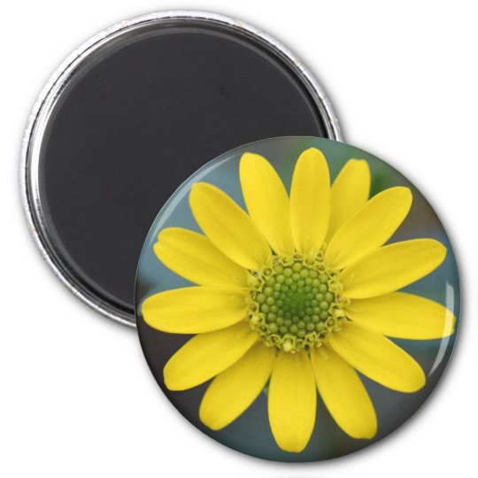 Yellow Flower Floral Magnet