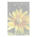 Yellow Flower: Irish Eyes II, Lined/Unlined Paper Customised Stationery