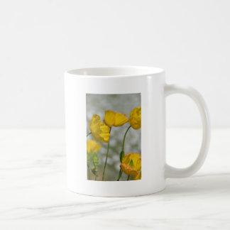 Yellow flower magic coffee mug