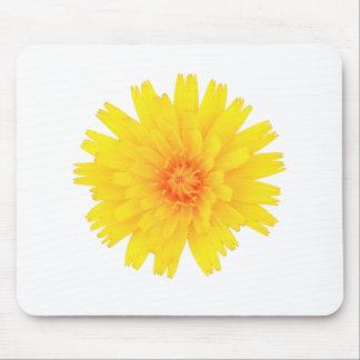 Yellow Flower Mouse Mat