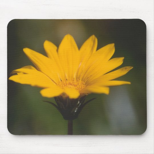 Yellow Flower Mouse Mat