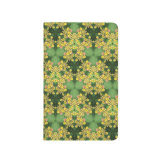 Yellow Flower Pattern Journal