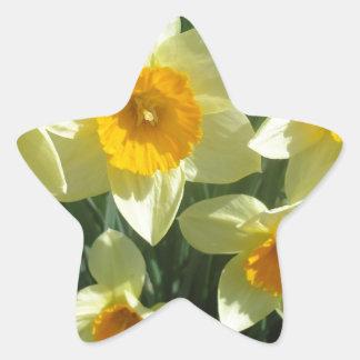 Yellow Flower pattern Stickers