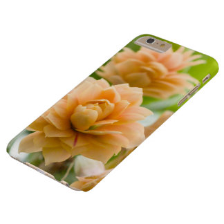 Yellow flowers barely there iPhone 6 plus case