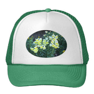 Yellow Flowers Cap