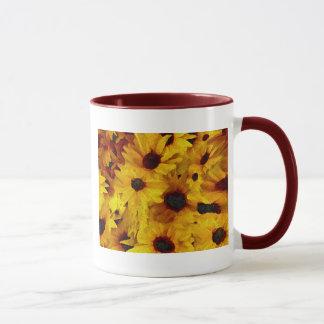 Yellow Flowers Mug