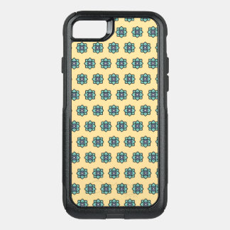 Yellow flowers pattern OtterBox commuter iPhone 8/7 case